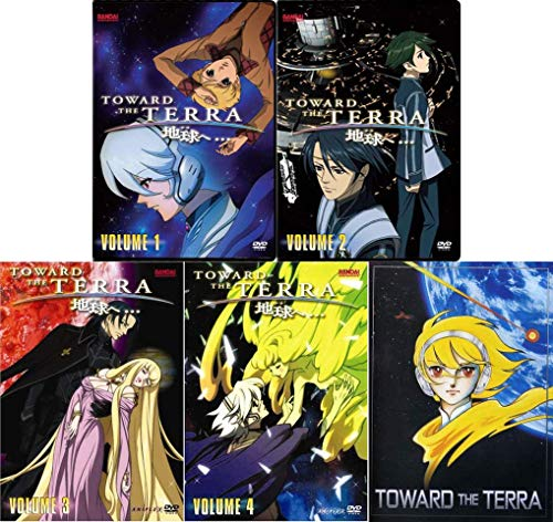 Toward the Terra: Anime Series Complete Volumes 1-4 with Movie DVD Collection
