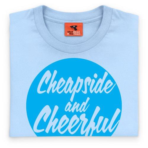 Square Mile Cheapside T-Shirt, Herren Himmelblau