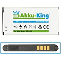 Akku-King Akku für Samsung Galaxy S5, S5 Neo, GT - i9600, i9602, i9605, SM-G901F - ersetzt EB-B900BE, EB-BG900BBE, EB-B900BK - Li-Ion 3000mAh (ohne NFC)