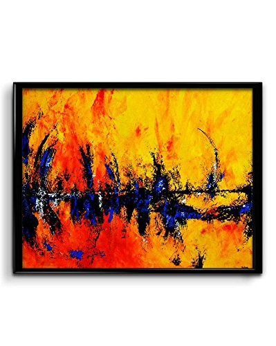 Amazing Oil Painting Art Matte Poster, 12x18 inches Matte Print [HD Bright Art Print, Medium Size, Rolled Poster]  available at amazon for Rs.186
