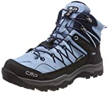 CMP Unisex Rigel Mid Wp Trekking-& Wanderstiefel , Türkis (Glass-B.Blue) , 39 EU