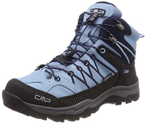 CMP Unisex Rigel Mid Wp Trekking-& Wanderstiefel , Türkis (Glass-B.Blue) , 41 EU