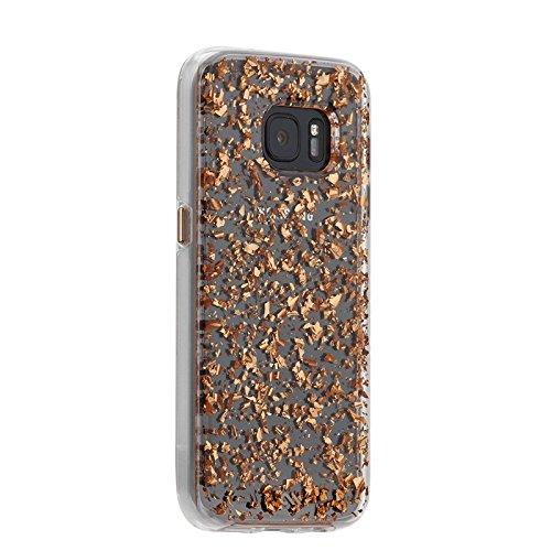 Case-Mate CM032327 Sheer Glam Schutzhülle für Samsung Galaxy S6 champagner Rose Gold