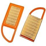 MZY LLC kompatibel für Stihl Air Filter Kartusche, BR500BR550BR600Rucksack Laubbläser Zubehör 4282–141–03004282–141–0300b Teile 2PCS