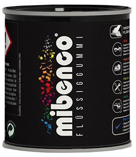 Preisvergleich Produktbild mibenco 72829010 Flüssiggummi Pur, 175 g, Weiß Matt - Schutz und Isolation zum Tauchen und Pinseln