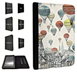 758 - Hot Air Balloons Floating Design Case Fashion Trend For All Amazon Kindle Fire Hd 7