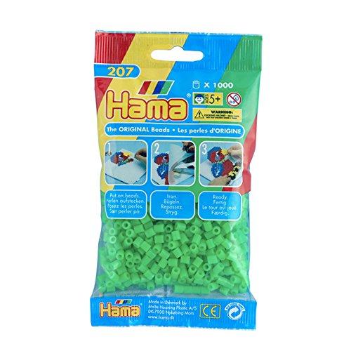 hama-207-42-bugelperlen-1000-schreibwaren-grun-fluor