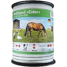 Recinto A Banda Larga Eider–200meter–20mm Bianco–Forte Qualità a prezzo Lotta