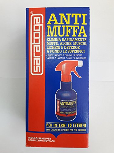 Saratoga Z10 Liquido antimuffa spray per tutte le superficie