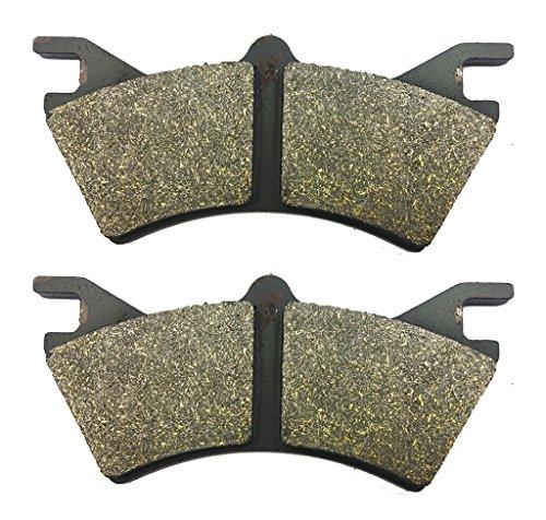 trasero zapatos freno de la Pads semi Met¨¢licos fit POLARIS ATV PPS PTV 6x6 Series10 1 Pair(2 Pads)