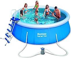 Bestway Fast Pool Set, blau, 457 x 122 cm
