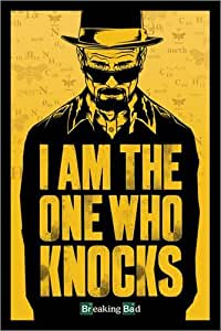 """Poster 61 x 91.5 cm - """"Breaking Bad - I am the one who knocks"""""""