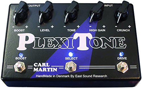 Carl Martin Plexitone Crunch/hi-gain Overdrive Pedal con Boost