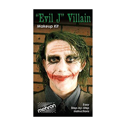 (3 Pack) mehron Character Makeup Kit - Evil J