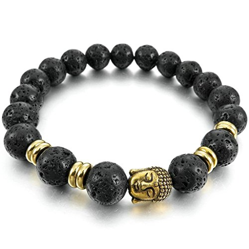 adisaer-acier-inoxydable-gourmette-hommes-bracelet-charms-lor-noir-energie-pierre-de-lave-rock-boudd