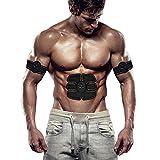 Gargantia Electrostimulateur Musculaire, Ventre/Cuisse/Bras Massage Ceinture abdominal Tonifiant, Appareil Abdominal, Muscle Abs Stimulateur Hommes Femmes