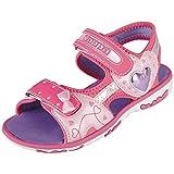 Kappa Sweetheart II, Sandali con Cinturino alla Caviglia Bambina, Rosa (Pink/Purple 2226), 26 EU