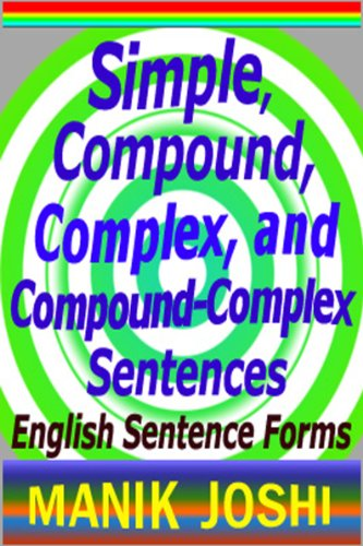 simple compound complex and compound complex sentences english