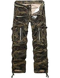 AYG Camouflage Hose Military Hose Cargo Hose Herren Armee Camo 29-40