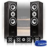 Best Home Cinema Speakers - Skytronic 5.0 Black Surround Sound Speakers System Hi-Fi Review