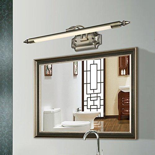 European American Spiegel vorderen Leuchten Badezimmerspiegelschrank Licht Bad Licht Make-up mediterrane Licht Bronze geführt -