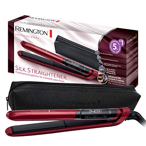 Remington Silk S9600 - Plancha de Pelo