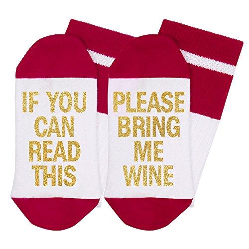 Beste Geschenk-lustige verursachende Socken-Weihnachtssocken Wenn Sie Weihnachtsgeschenk für Geliebten, Freunde, Mamma und Vater dieses Baumwollweihnachtssocken lesen können