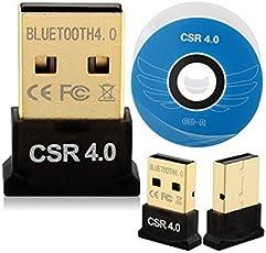 AlexVyan Mini USB Bluetooth CSR v40 Dongle Dual Mode Wireless Adapter Device (CSR8510 Chipset)