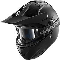 HE6152EKMAXS - Shark Explore-R Blank Mat Dual Sport Helmet XS Matt Black (KMA)