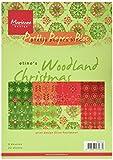 Marianne Design Marianne 's Pretty Paper bloc, woodland Weihnachten