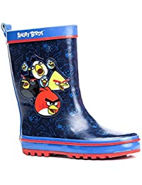 Angry Birds Bottes de pluie, Bottes en caoutchouc bleu