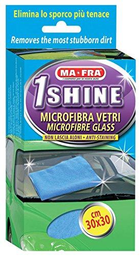 Ma-Fra Panno per Pulizia vetri Auto in Microfibra 30x30cm