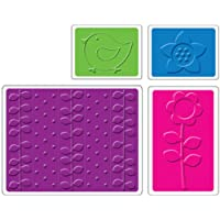 Sizzix Textured Impressions Embossing Folders %2FPkg-Spring 4
