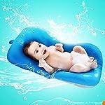 Baby Bath Cushion,Kakiblin 0-6 Month Newborn Bath Anti-Slip Cushion Seat