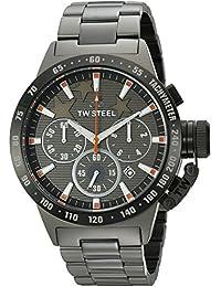 TW Steel Unisex-Armbanduhr Canteen Style Mitchel Analog Quarz Edelstahl beschichtet TW-313