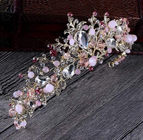Großhandel Tiara - NJSdd Braut Haarschmuck Barock Handgefertigt Perlen