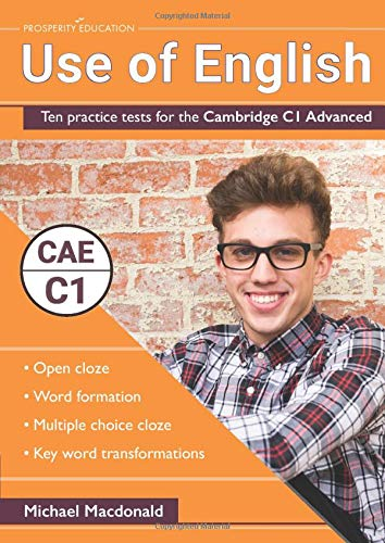 Use of English: Ten practice tests for the Cambridge