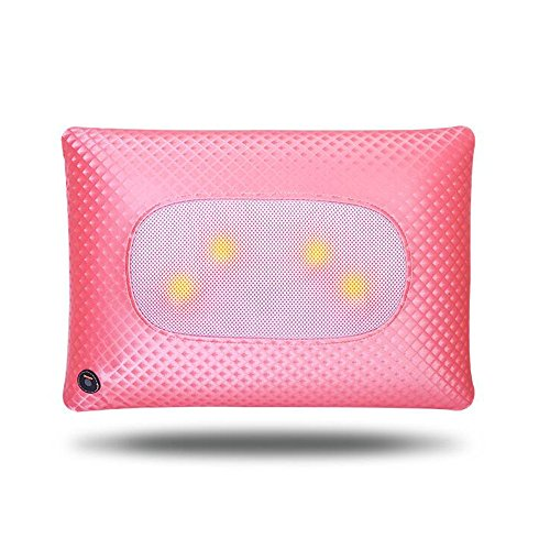 FEI Meilleur massage à la maison Home Pillow Massage Massage multifonctionnel Pillow massage utilisation pratique (Couleur : Rose)