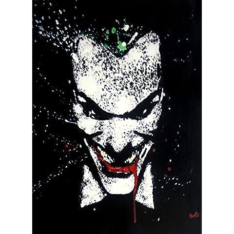 Joker 20x 14dipinto a olio su tela ma Box Framing disponibili su richiesta, si prega di contattarci via email per dettagli. Molti Altri Joker, disponibile anche come qualsiasi dimensione Desideri. Si prega di contattarci via email per dettagli. Batman, cavaliere oscuro - Framing Olio Su Tela