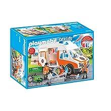 Playmobil 70049 City Life Hospital Ambulance with Lights and Sound
