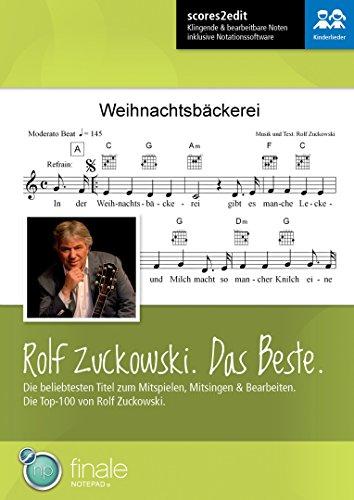 Rolf Zuckowski. Das Beste. - scores2edit