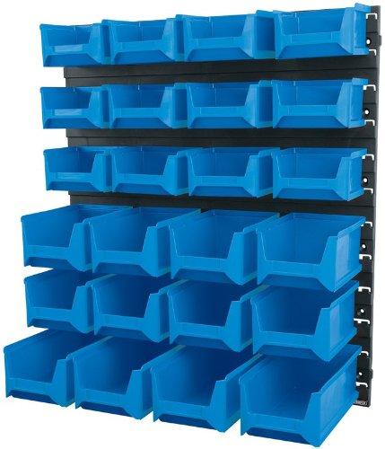 Draper 06796 Lot de 24 bacs de stockage