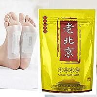 Delaman Ingwer Fuß Detox Flecken Wermut Fuß Auflagen für Das Entfernen der Körper-Giftstoffe, Gewicht Verlust,... preisvergleich bei billige-tabletten.eu