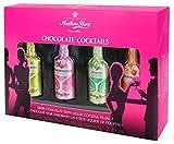 Anthon Berg Schokoladen Fläschchen cremegefüllt mit beliebten Cocktails Geschenk (4Stk. Displaypackung)