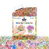 Ainolway Perlas de agua, 260ml (más 30.000 unidades) bolas de cristal que crecen por arte de magia para juego infantil sensorial