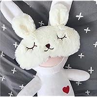PRIMI Lovely verstellbar Cute Kaninchen Schlafen Augenbinde Eye Maske (weiß) preisvergleich bei billige-tabletten.eu
