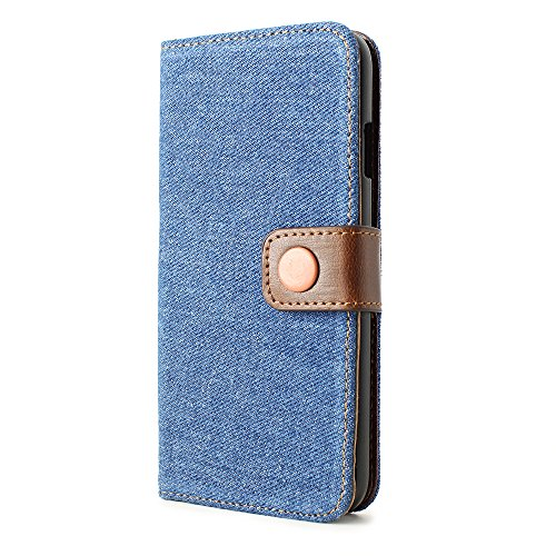 iPhone 6, Denim, P,, plastik, dunkelblau, iPhone 6 (11,9 cm / 4,7 Zoll) Medium Blue