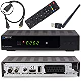 Anadol HD 202c Plus digitaler Full HD 1080p Kabel Receiver [Umstieg Analog auf Digital] inkl. HDMI Kabel & WLAN USB Stick (HD
