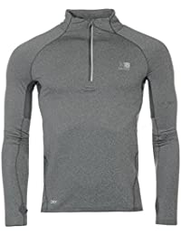 Karrimor Mens X Lite Endura Long Sleeve Zip Top Performance Shirt Breathable