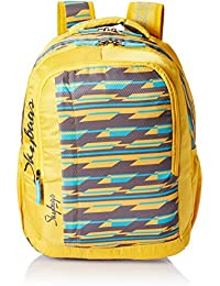 Skybags Polyester 30 Ltrs Yellow Casual Backpack (BPHELFS4YLW)
